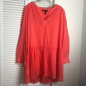 Lauren Long-Sleeve Peasant Dress